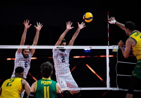 لیگ ملت های والیبال، ایران 2، استرالیا 3؛ شکست عجیب مقابل تیمی که تنها دو ست برده بود!