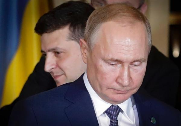 پیشنهاد پوتین برای ملاقات با رئیس جمهوری اوکراین در مسکو